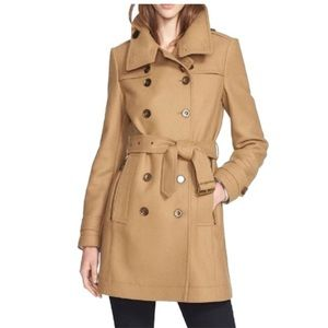 Burberry Daylesmoore Wool Blend Trench Coat